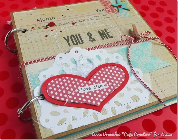 cafe creativo - Anna Drai - sizzix big shot - Mini album - Valentine (6)