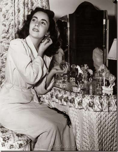 Liz Taylor's Vintage Perfume Bottles