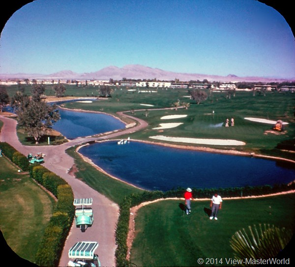 View-Master Las Vegas Nevada A159 Scene 3-6 Tropicana Golf Course