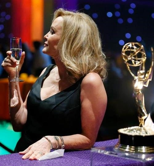 jessica lange emmy 2014 party