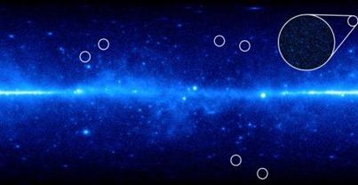 Universo visto pelo telescópio Fermi
