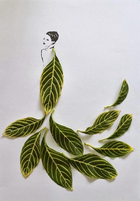 Folhas e traços 01