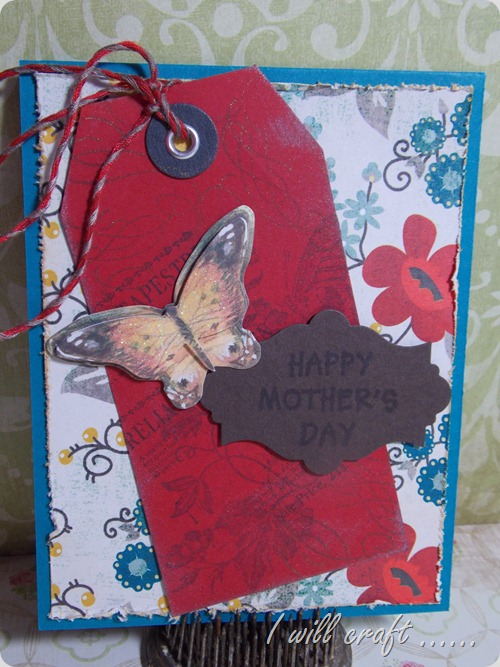 I will craft... Mother's Day Card (1)