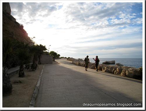 Via Costa Blanca 250m 6c  (6b A0 Oblig) (Peon de Ifach, Alicante) (Fran) 4749