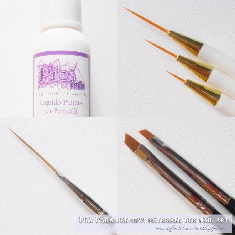 pics nails-nail art-pennelli