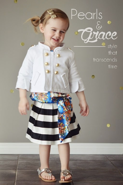 pearls & grace girls outfit