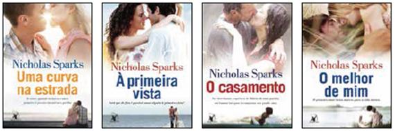 Outro livros - Nicholas Sparks