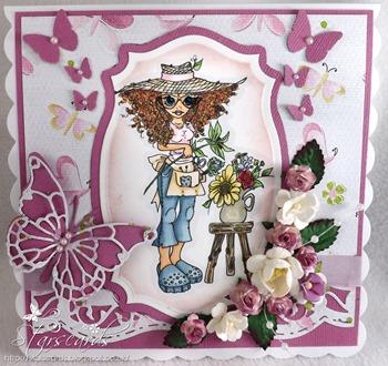 Maxine the florist crop