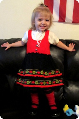 The little German dress