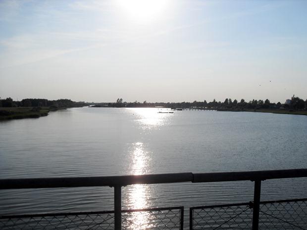 solen over vandet