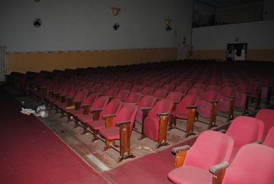 Auditório da Casa da cultura platinense . Foto Antônio de Picolli (2010)