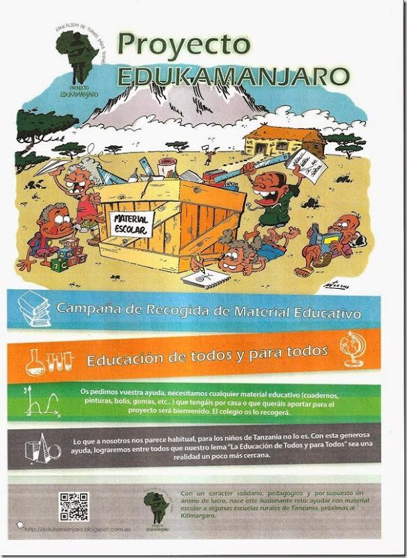 cartel edukamanjaro
