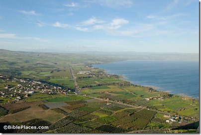 Plain of Gennesaret from Arbel, tb032507715