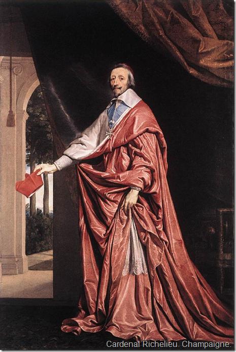 Cardenal Richelieu. Champaigne.