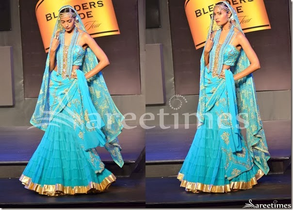 Suneet_Verma_Blue_Saree