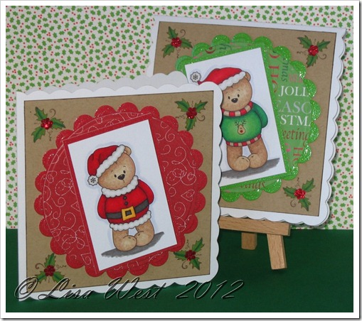 Little Bear Winter Fun Card (6)