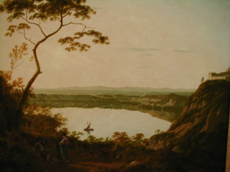 The Lake of Albano, 1790