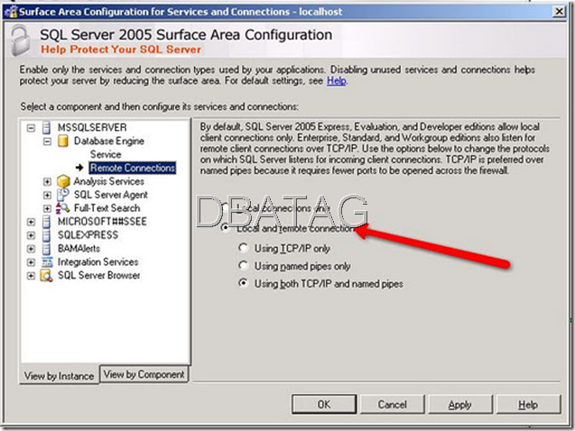 Configure SQL Server for Remote Connections sql server Remote Connection