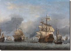 800px-Willem_van_de_Velde_(II)_-_De_verovering_van_het_Engelse_admiraalschip_de_'Royal_Prince'