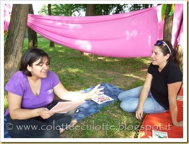 Monia e Colette a Mamme Che Leggono