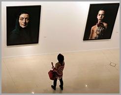 Exposición de Pierre Gonnord en Centro de Arte Tomás y Valiente. Foto Sebas Navarrete