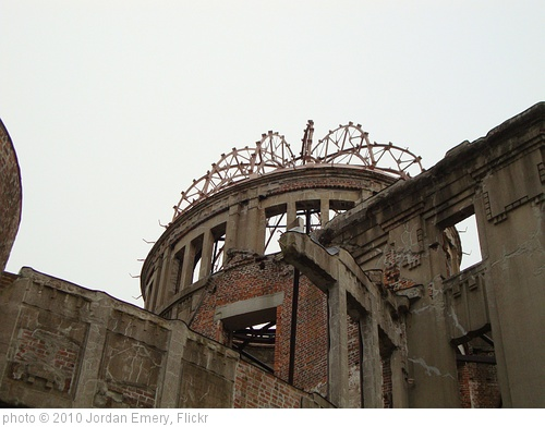 'Last Building Standing After the Hiroshima Japan Atomic Bomb' photo (c) 2010, Jordan Emery - license: http://creativecommons.org/licenses/by/2.0/