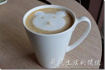 台南-蒂兒咖啡早午餐(有小熊拉花的熱拿鐵)