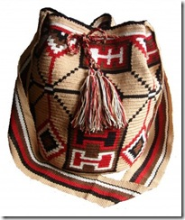 Wayuu Taya Bag Red and Beige