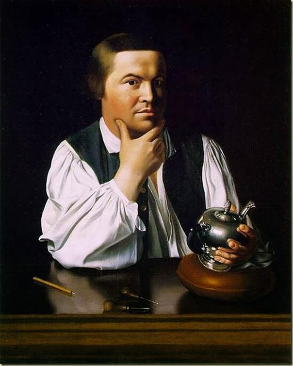 """Paul Revere"""" de John Singleton Copley"""