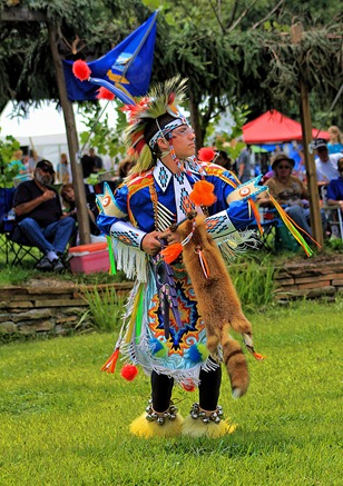 Lenape Powwow Fancy Dancer10