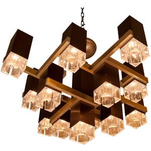 Sciolari Cubic chandelier