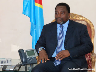 Le prsident Joseph Kabila. Radio Okapi/ Ph. John Bompengo