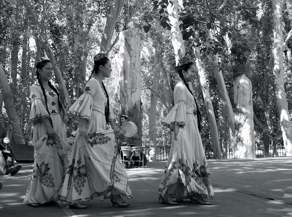Turfan - Putaogou 3 danseuses