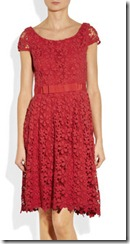 Collette by Collette Dinnigan Red Lace Dress