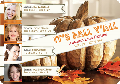 fall linky party