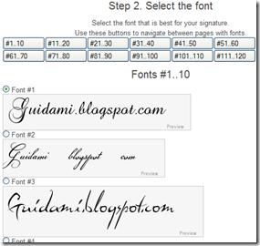 MyLiveSignature font firma