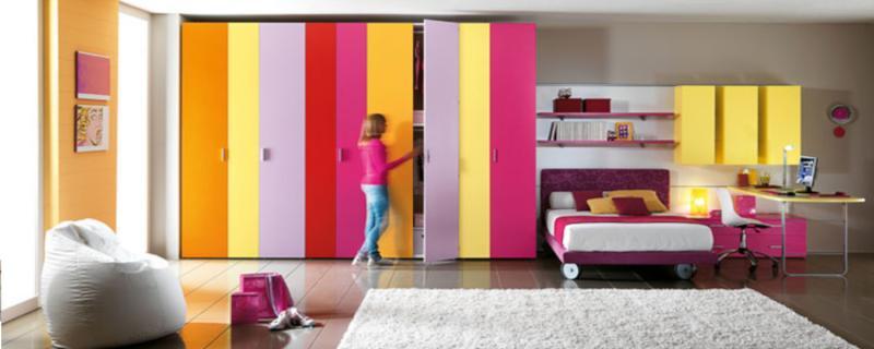 Signorini arredamenti arredamento camerette per bambini e - Armadio camera ragazza ...