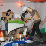 14 Feb, Bristol: Xavier Keeling and the Love of It team build a cardboard reconstruction of Tokyo… then let the four champions of the Cardboard Tube Fighting League (Bristol Chapter) go Godzilla over it. Two days to build, 23 seconds to destroy. Brilliant.