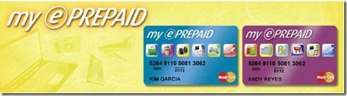 BPI's My e-Prepaid card