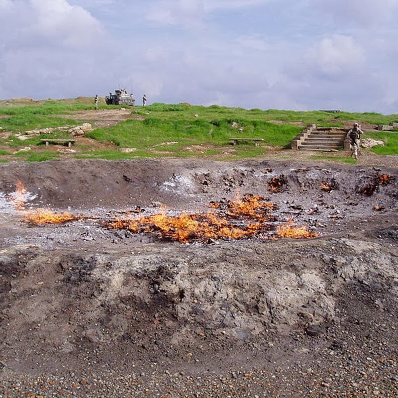 The Eternal Fire at Baba Gurgur