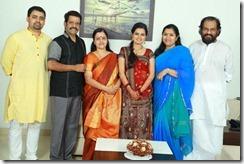 Balachandra Menon daughter Bhavana wedding2