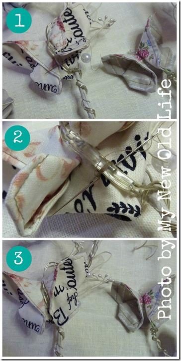 tutorial farfalle di stoffa 6