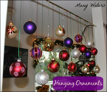 Many Waters Hanging Ornaments