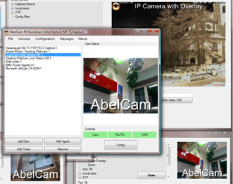 AbelCam Free WebCam Server Software