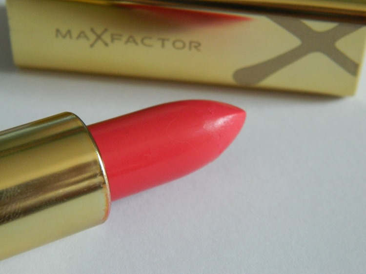 Max Factor Lipstick - Bewitching Coral