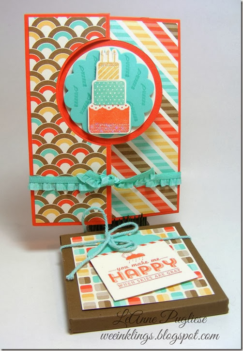 LeAnne Pugliese WeeInklings Stampin Up Make A Wish Birthday Card