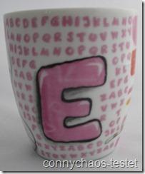 Diddlina Buchstaben Tasse