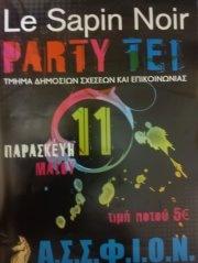 Πάρτυ της Α.Σ.Σ.Φ.ΙΟ.Ν. στο Le Sapin Noir (11-5-2012)