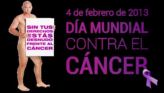 Día mundial contra el cáncer 2.013