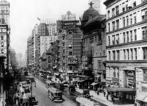 Broadway at 38st. Early 1920's.